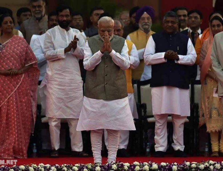 ขณะนี้อินเดีย ภายใต้ Modi รายงานกล่าว