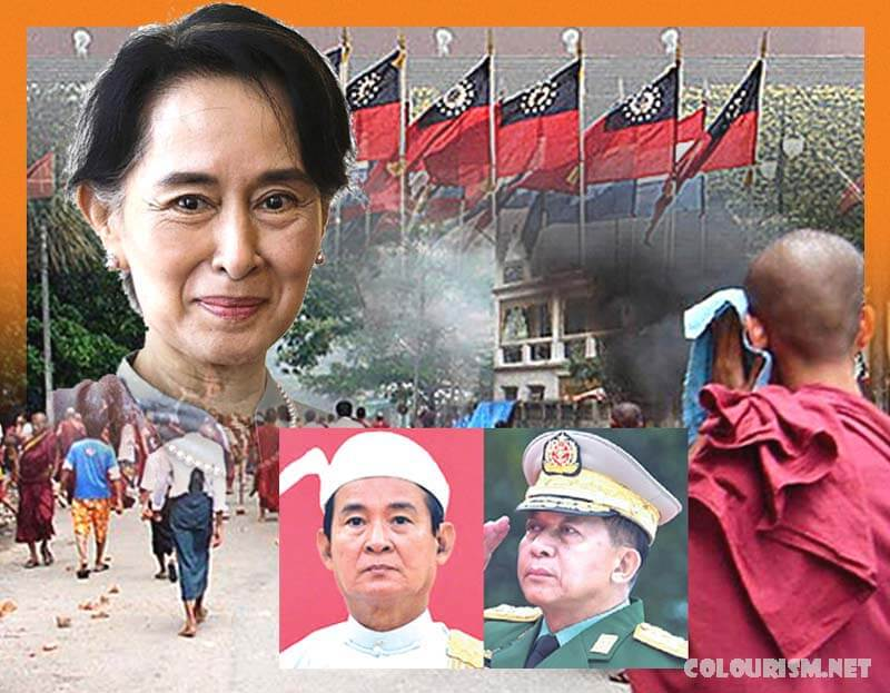 สายเลือดทางการเมือง ในประเทศเมียนมาร์ นางซูจีเป็นบุตรสาวของนายพลอองซานวีรบุรุษเอกราชของเมียนมาร์ เขาถูกลอบสังหารเมื่อเธออายุเพียง 2 ขวบ