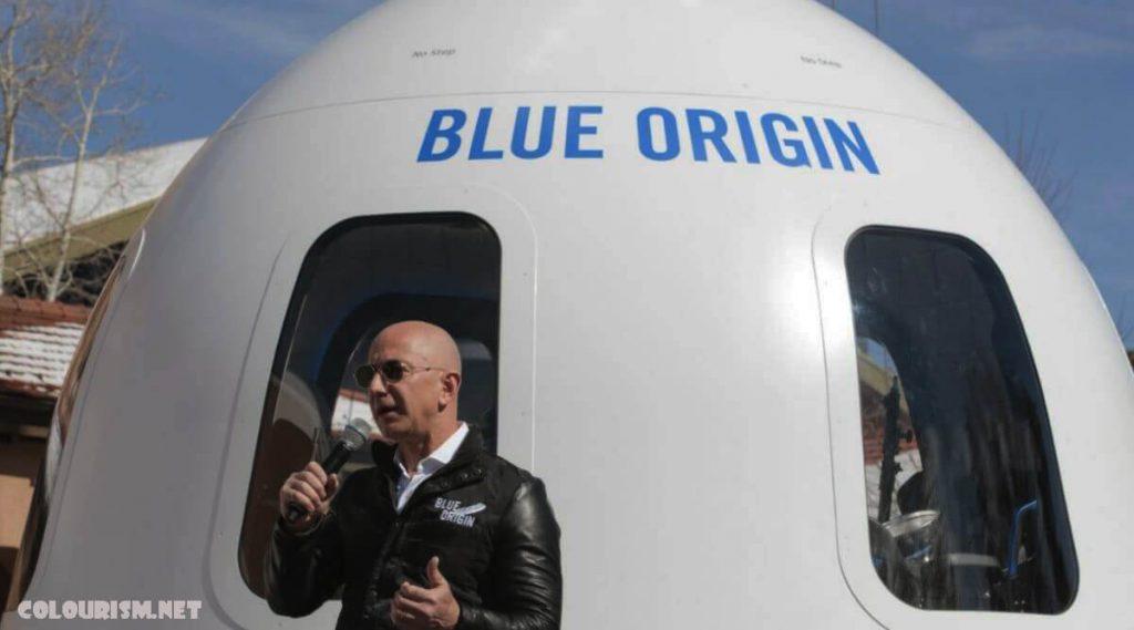การเดินทาง ในอวกาศกับ Bezos ของ Amazon ผู้ประมูลปริศนารายหนึ่งได้จ่ายเงิน 28 ล้านเหรียญสหรัฐ (20 ล้านปอนด์) เพื่อซื้อที่นั่งบนเที่ยวบินอวกาศ