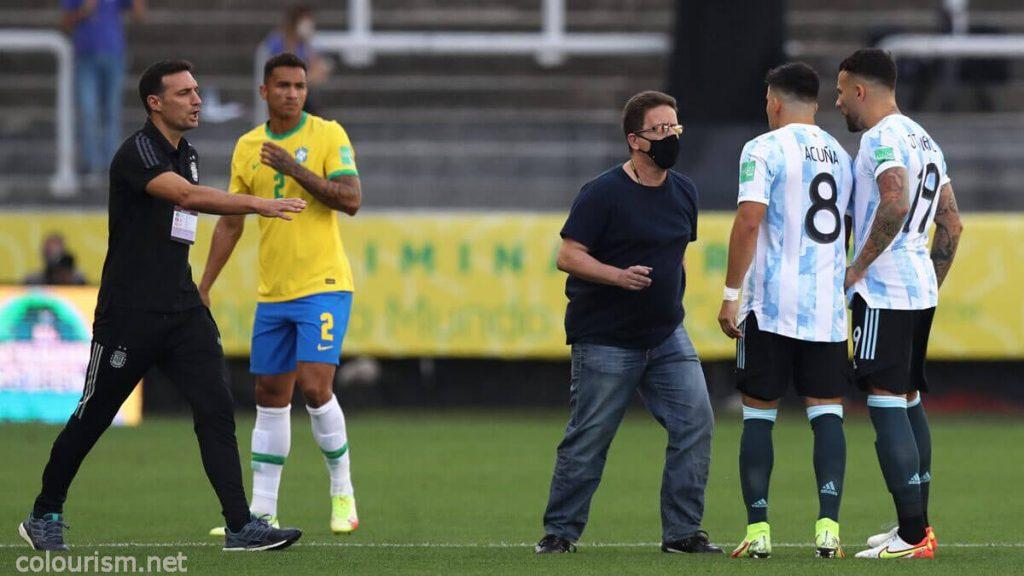 แมตช์คัดบอลโลก บราซิล - อาร์เจนตินา ยกเลิกแข่ง หลังมี จนท.สาธารณสุข ลงสนามจับ 4 แข้ง พรีเมียร์ลีก ที่ไม่กักตัวคู่บิ๊กแมตช์ของ ฟุตบอลโลก 2022