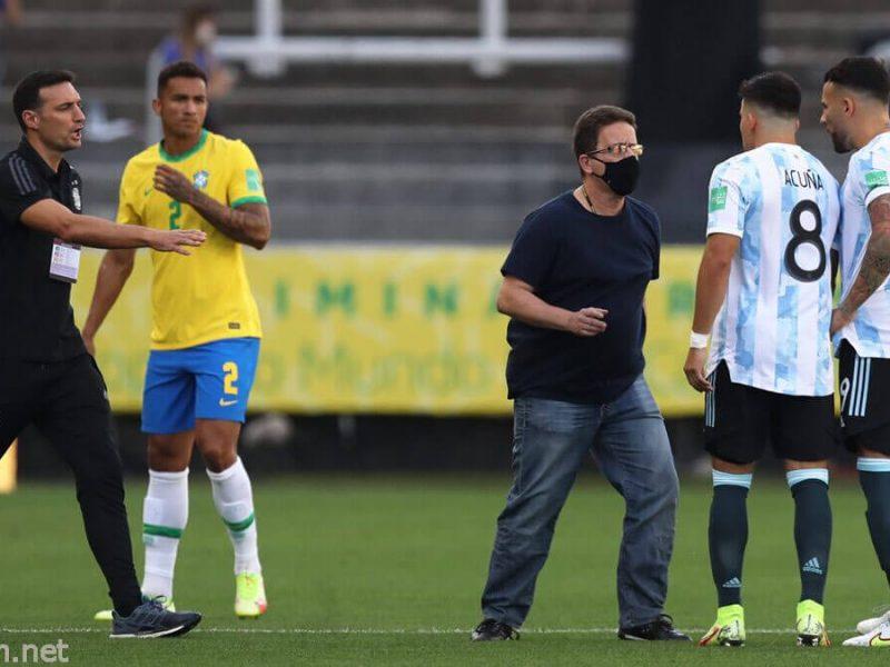 แมตช์คัดบอลโลก บราซิล – อาร์เจนตินายกเลิก